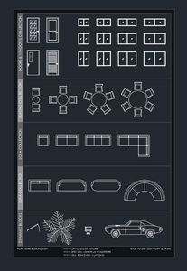 A collection of CAD blocks available to download at www.jaycad.com/store