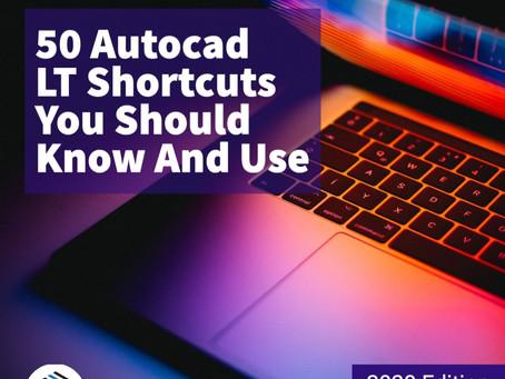 50 Autocad LT Shortcuts You Should Know