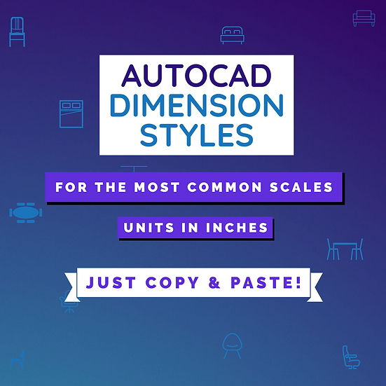 Autocad Standard Dimension Styles
