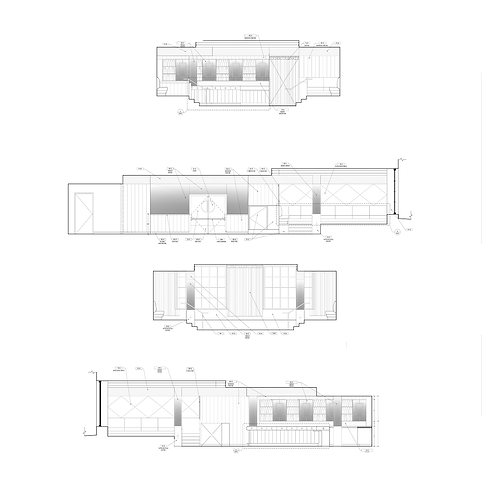 Jay Cad | CAD Drafting | Interior Elevations For A Commercial Project