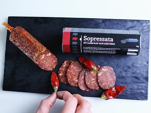 Sopressata: Spicy Calabrian Salami -VDG Salumi