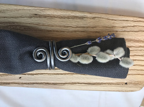 Fiddlehead Napkin Ring