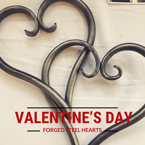 Forged Hearts Blacksmithing Class