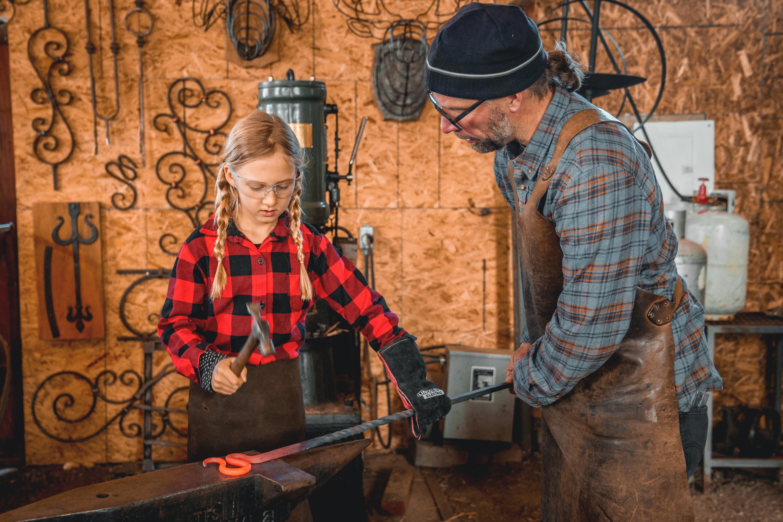 Kids Blacksmithing