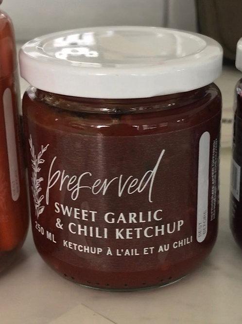Sweet Garlic & Chili Ketchup - Preserved