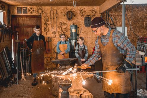 Children's Blacksmithing Class