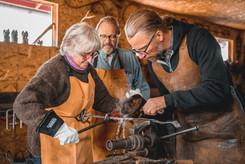 Couples Blacksmithing