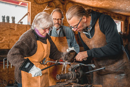Couples Blacksmithing