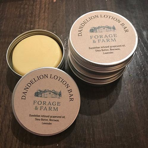 Dandelion Lotion Bars