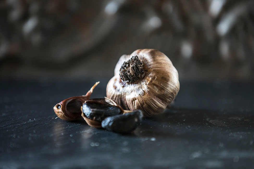 Forage & Farm Black Garlic