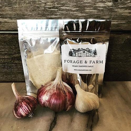 Organic Hardneck Garlic Powder