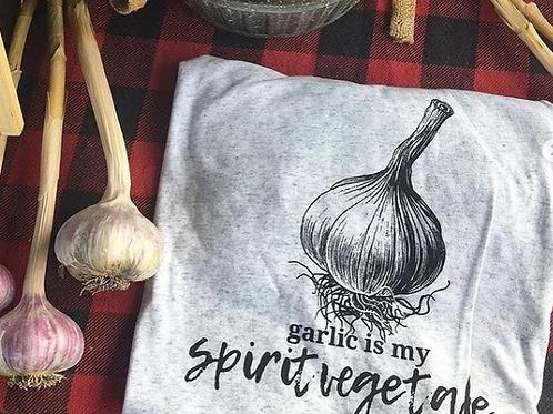 T- Shirt Garlic is my Spirit Vegetable