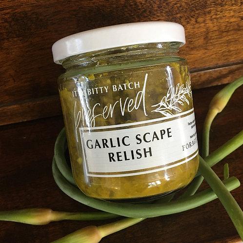 Garlic Scape Relish
