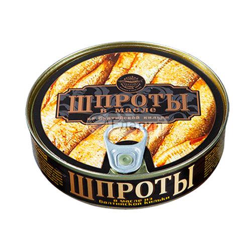 """Шпроты """"Русский рыбный мир"""" 240г"""