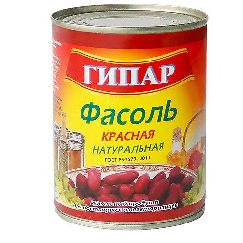 """Фасоль красная натуральная """"Гипар"""" 400г"""
