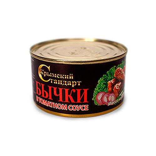 "Бычки ""Крымский стандарт"" 240г"