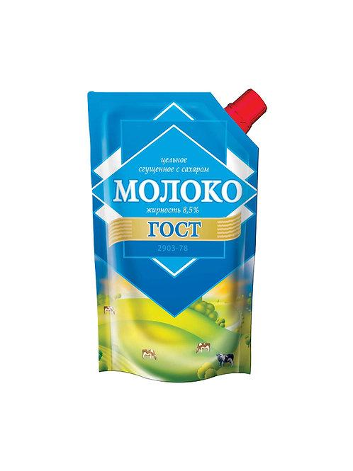 Молоко цельное сгущенное с сахаром