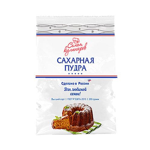 """Пудра сахарная """"Семья кулинаров"""" 100г"""