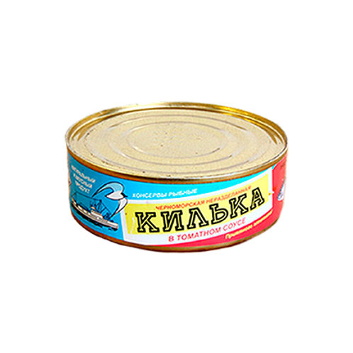 """Килька """"Черноморская"""" 240г"""