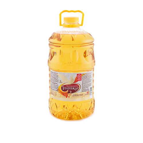 """Масло подсолнечное """"Златожар"""" 5л"""
