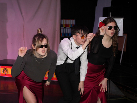 A-Level Drama students perform their work