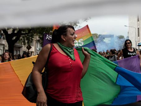 """""""hay una parte de la vida de travestis y trans que no se visibilizó"""""""
