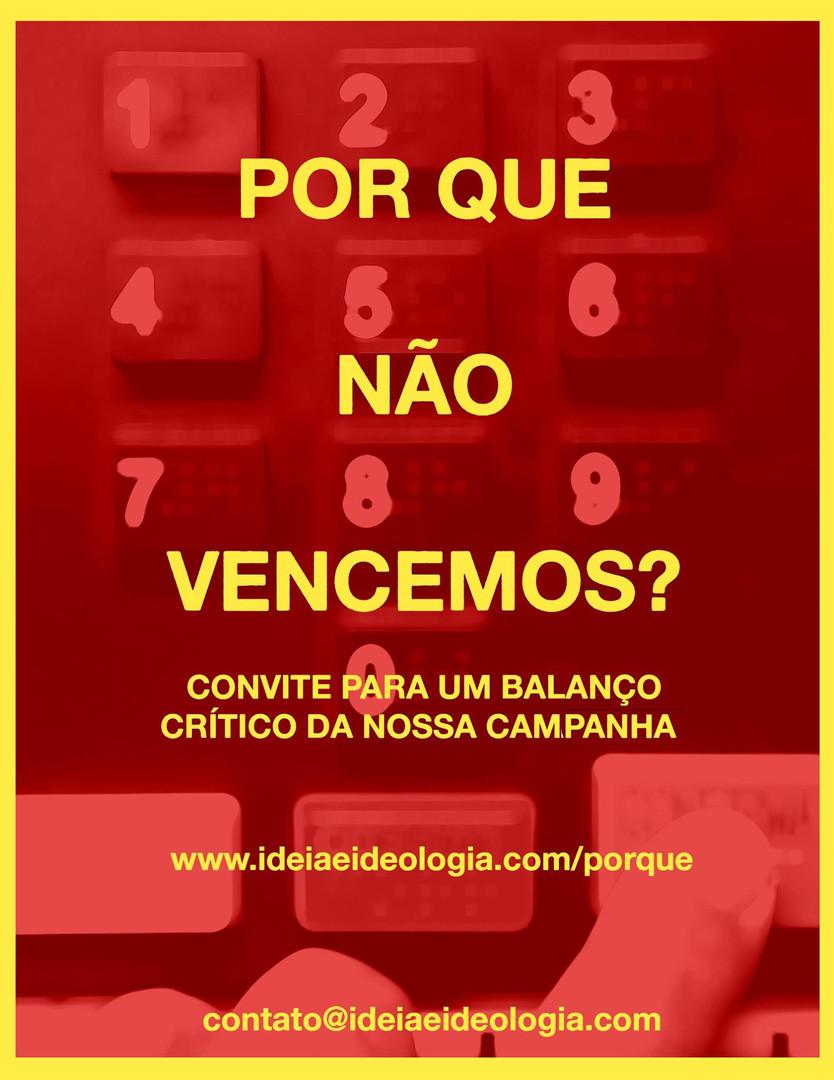 Por que não vencemos? (PSOL RJ, 2016)