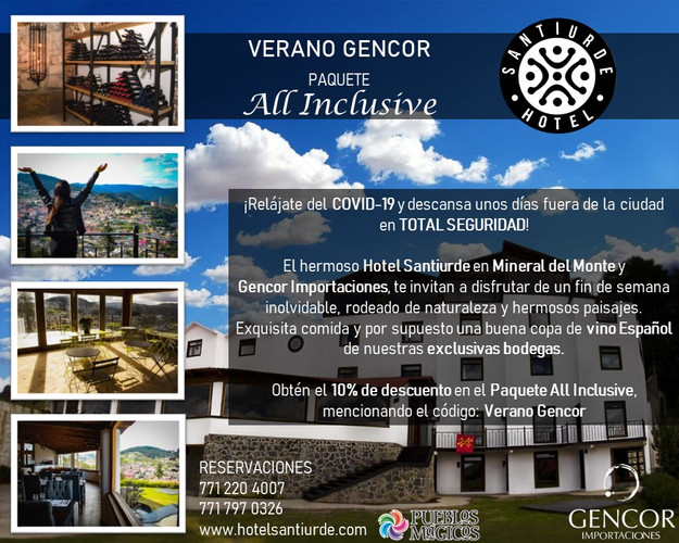 Verano Gencor en Hotel Santiurde