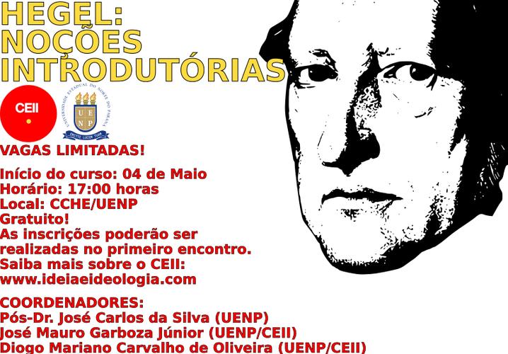 Hegel: Noções Introdutórias (UENP, 2017)