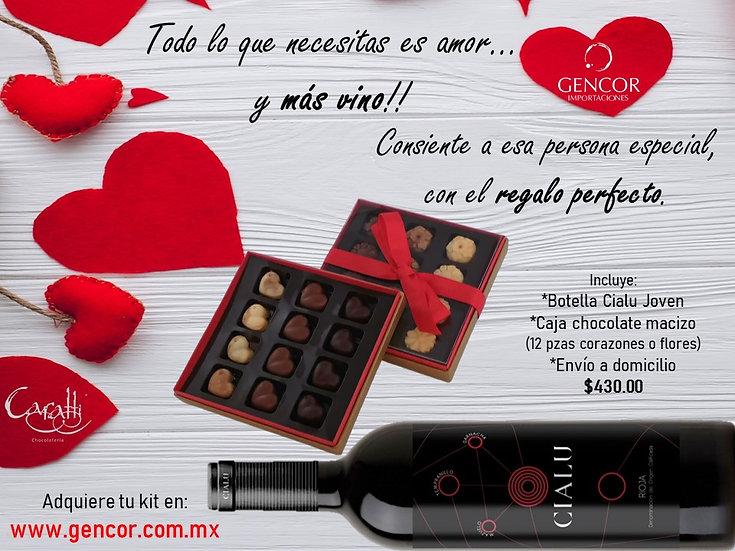 VINO & CHOCOLATE