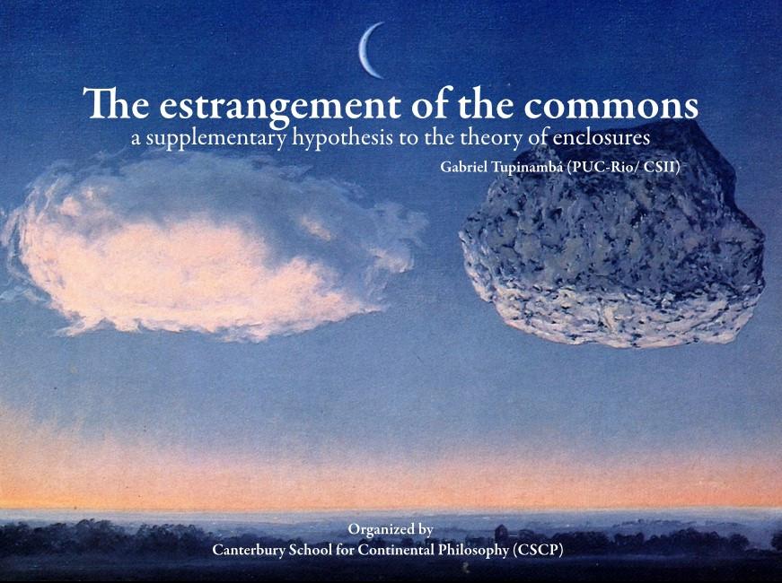 The Estranegement of the Commons (Canterbury Uni, 2017)