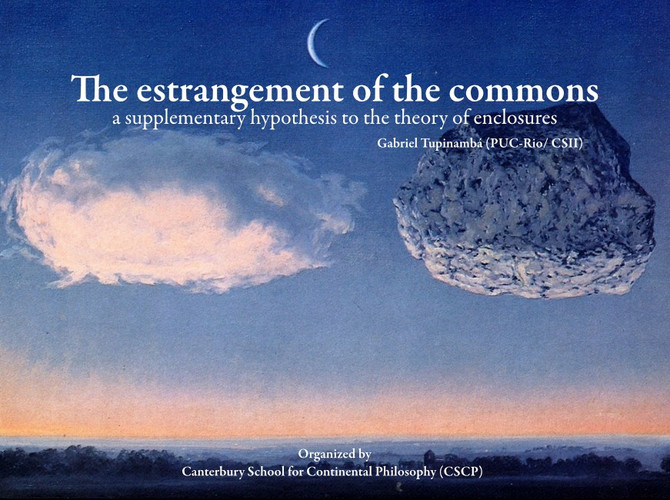 The Estranegement of the Commons (Canterbury Uni, 2017)