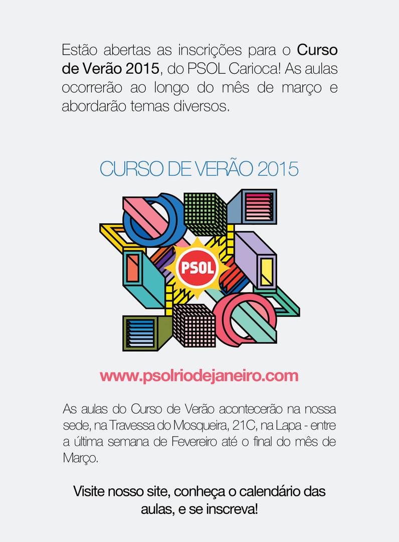 Curso de Verão do PSOL RJ (2015)