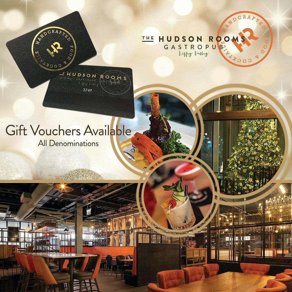 Hudson Rooms Gift Voucher