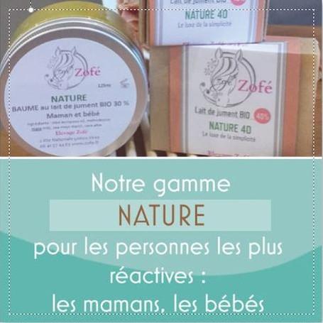 des produits naturels pour prendre soin des peaux les plus délicates