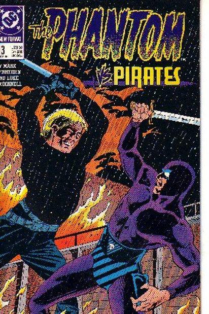 PHANTOM DC,13 ISSUES, 1989-90 3