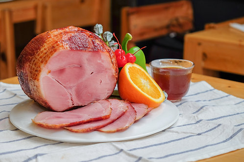 Christmas Cider Cured Gammon