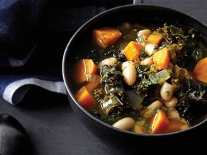 A Favorite Recipe for Cold Weather: Kale & White Bean soup