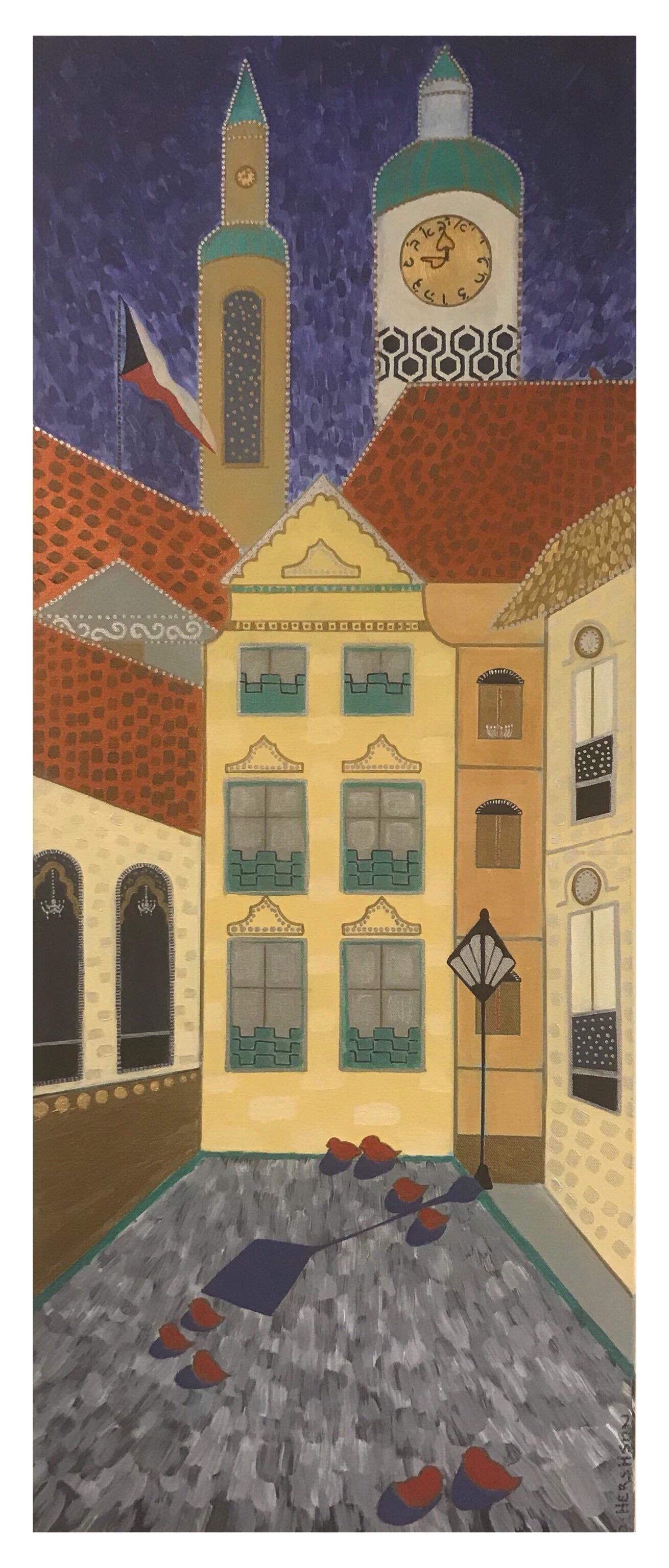 The Golem City 12 x 36