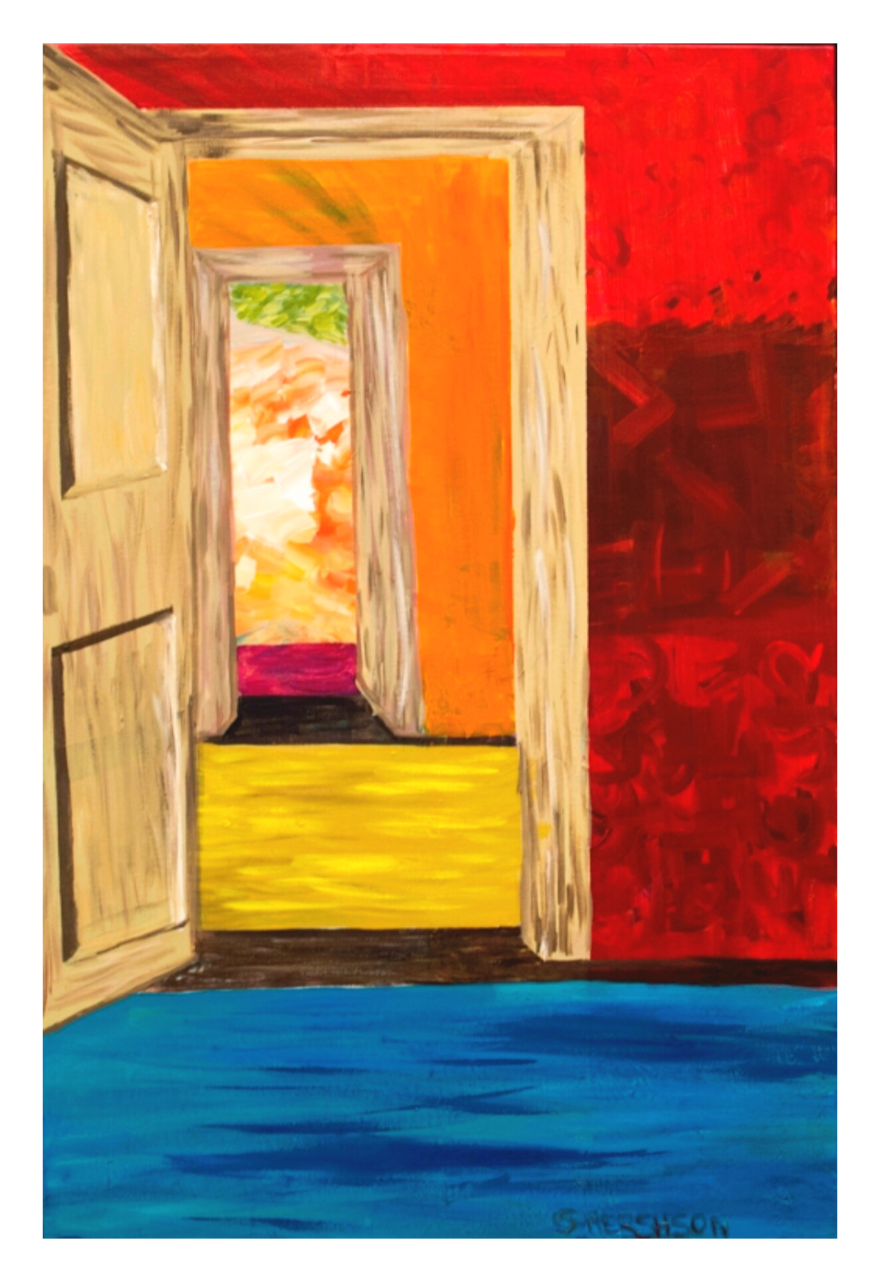 When One Door Closes 24 x 36 SOLD