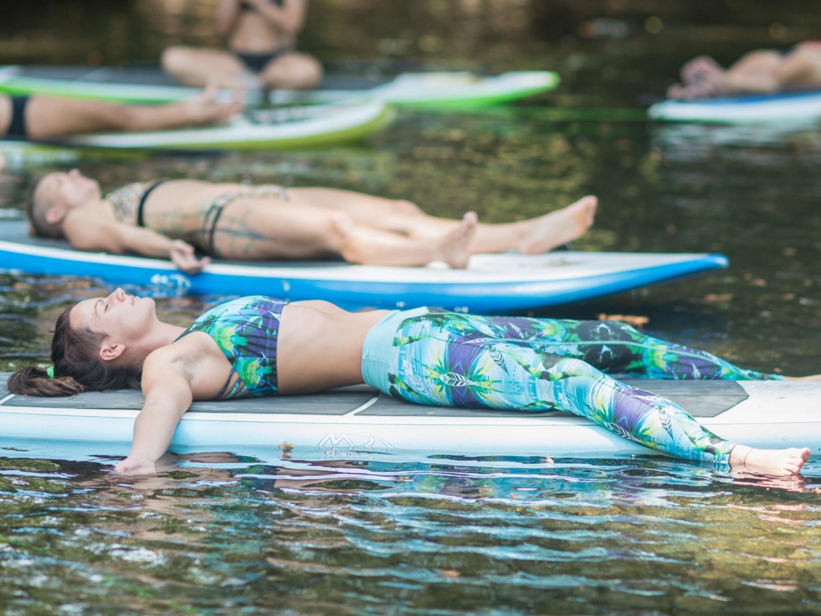 SUP Yoga Class