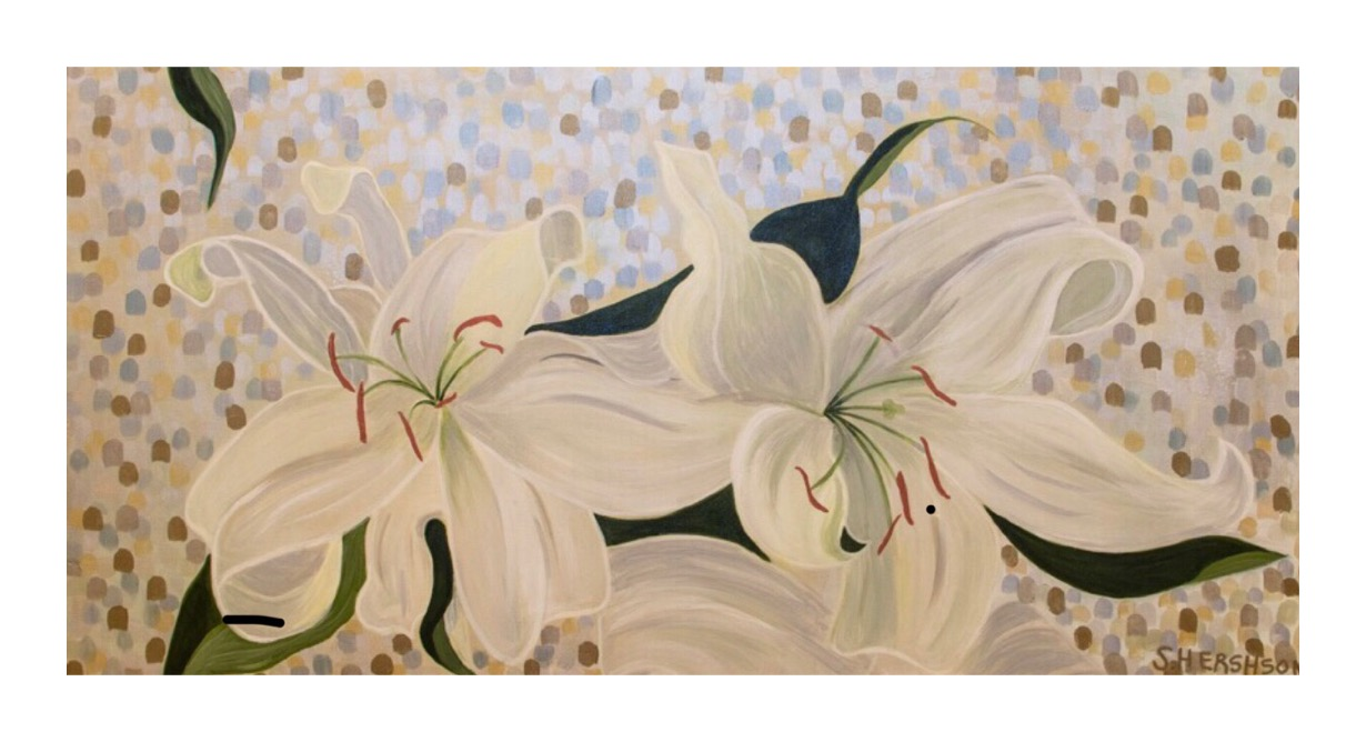 Blossoming 24 x 36 SOLD