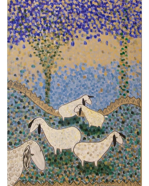 Goats in Canaan - SOLD