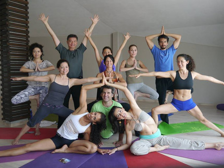 The Yoga of Dating by Heidi Michelle