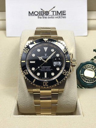 Rolex 18ct Yellow Gold Submariner Date 116618LN