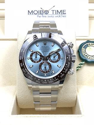 Rolex Platinum Cosmograph Daytona Ice Blue Dial 116506