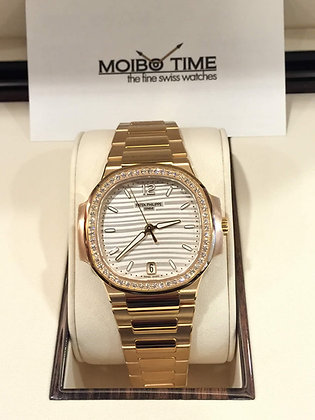 Patek Philippe 18ct Rose Gold Nautilus Ladies 7118/1200R-001