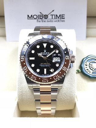 Rolex GMT-Master II Everose Gold Steel Two-Tone 126711CHNR