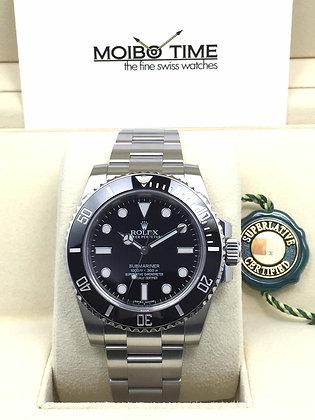 Rolex Black Submariner 114060