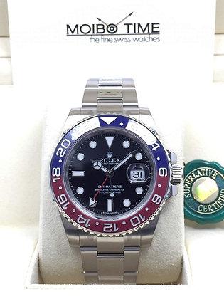 Rolex GMT-Master II 18ct White Gold 116719BLRO